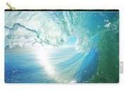 Blue Ocean Wave Carry-all Pouch
