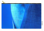 Blue On Blue Cropped Version Carry-all Pouch
