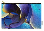 Blue Orchid Macro Carry-all Pouch