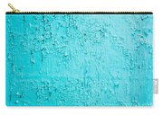 Blue Paint Background Grungy Cracked And Chipping Carry-all Pouch