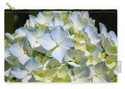 Blue Pastel Floral Art Prints Hydrangea Flowers Carry-all Pouch