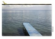 Blue Pier At Lake Ohrid Carry-all Pouch