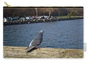 Blue Pigeon Carry-all Pouch