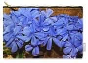 Blue Plumbago Carry-all Pouch