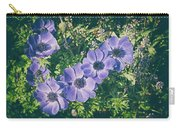 Blue Poppies Blooms Carry-all Pouch