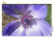 Blue Poppy Anemone Carry-all Pouch