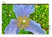 Blue Poppy In Les Jardins De Metis Or Reford Gardens Near Grand-metis-quebec Carry-all Pouch