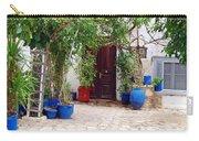 Blue Pots Carry-all Pouch