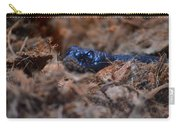 Blue Racer Snake Carry-all Pouch