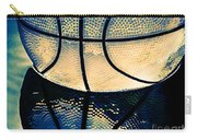Blue Basketball Carry-all Pouch