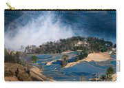 Blue Rice Terrace Carry-all Pouch