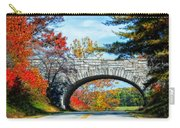 Blue Ridge Autumn Bridge Carry-all Pouch