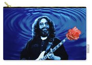 Blue Ripple From A Red Rose Carry-all Pouch