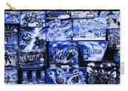 Blue Rush Carry-all Pouch