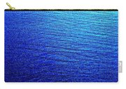 Blue Sand Abstract Carry-all Pouch