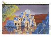 Blue Serpent Pueblo Carry-all Pouch by Jerry McElroy