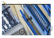 Blue Shutters In New Orleans Carry-all Pouch