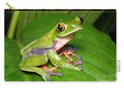 Blue-sided Tree Frog Carry-all Pouch