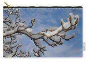 Blue Skies In Winter Carry-all Pouch by Bill Cannon