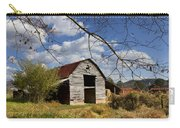 Blue Skies Red Roof Carry-all Pouch