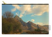 Blue Sky And Mountains Carry-all Pouch