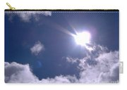 Blue Sky Clouds And Sunshine Carry-all Pouch