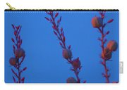 Blue Sky Flowers At Night Carry-all Pouch