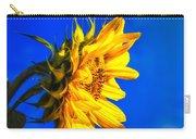Blue Sky Sunshine Sunflower Carry-all Pouch