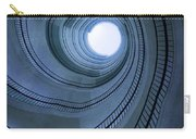 Blue Spiral Staircaise Carry-all Pouch