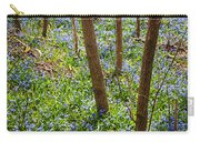 Blue Spring Flowers In Forest Carry-all Pouch