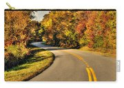 Blue Star Highway In Fall Carry-all Pouch