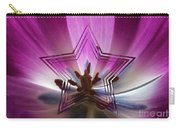 Blue Star Tulip Design Carry-all Pouch