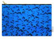 Blue Stars Carry-all Pouch