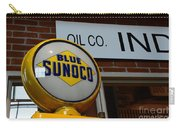 Blue Sunoco Globe Carry-all Pouch