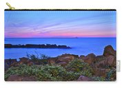 Blue Sunset Carry-all Pouch by Frozen in Time Fine Art Photography