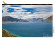 Blue Surface Of Lake Hawea In Central Otago Of New Zealand Carry-all Pouch