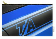 Blue Ta Carry-all Pouch