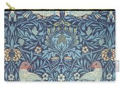 Blue Tapestry Carry-all Pouch by William Morris