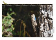 Blue Throated Lizard 1 Carry-all Pouch