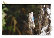 Blue Throated Lizard 2 Carry-all Pouch