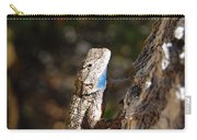 Blue Throated Lizard 4 Carry-all Pouch