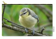 Blue Tit In A Cherry Tree Carry-all Pouch