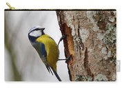 Blue Tit Searching Home Carry-all Pouch