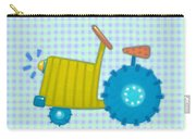 Blue Tractor Carry-all Pouch