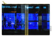 Blue Tram Windows Carry-all Pouch
