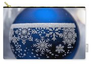 Blue Tree Ornament Carry-all Pouch