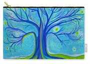 Blue Tree Sky By Jrr Carry-all Pouch