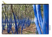 Blue Trees In Nature Carry-all Pouch
