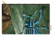 Blue Tropical Weevil Carry-all Pouch