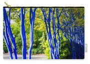Blue Trunked Trees 2 Carry-all Pouch
